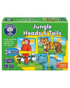orchard Toys 058 Jungle Heads & Tails Game