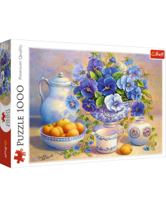 Trefl 10466 Blue Bouquet 1000 piece