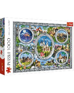 Trefl 10583 Castles Of The World 1000 piece