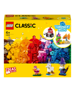 LEGO 11013 Classic Transparent Bricks