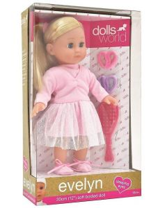 "Dolls World 8844  Evelyn Ballerina 12"" Doll"