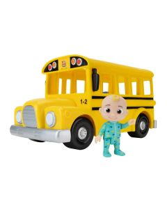 CoComelon Musical Yellow School Bus with JJ figure