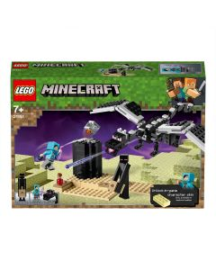 LEGO 21151 Minecraft The End Battle Collectible Toy