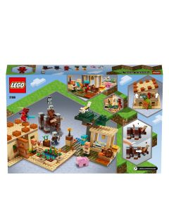 LEGO 21160 Minecraft The Illager Raid Village