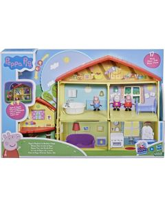 Hasbro F2188 Peppa Playtime to Bed House