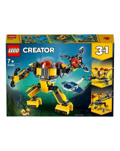 LEGO 31090 Creator Underwater Robot, Crane and Submarine, 3 in 1 Seaside Adventures