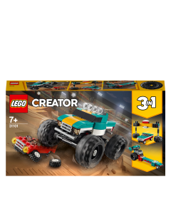 LEGO 31101 Creator 3in1 Monster Truck Demolition Car Toy