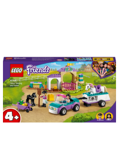 LEGO 41441 Friends Horse Training and Trailer Building Set with Stables and Car