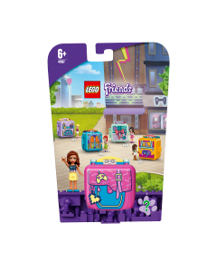 LEGO 41667 Friends Olivia's Gaming Cube Play Set, Collectible Travel