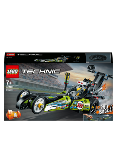 LEGO 42103 Technic Dragster Racing Car Toy to Hot Rod
