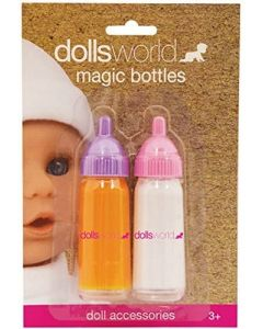 Dolls World 8706 Magic Drinking Bottles