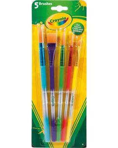 Crayola 300700 5 Asst Paint Brushes .