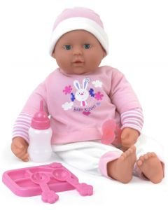 DollsWorld 60290 Talking Tasha (In pink baby grow not white as shown)