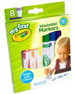 Crayola 81-8109 My First Crayola Markers 8 pack