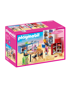 Playmobil 70206 Dollhouse Family Kitchen