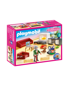 Playmobil 70207 Dollhouse Comfortable Living Room
