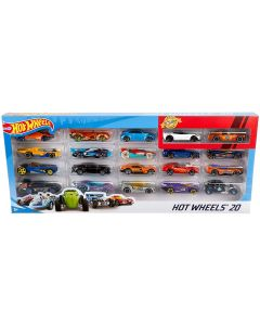 Mattel H7045 Hot Wheels 900, 20 Diecast Pack and Mini Toy Cars