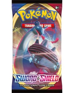 Pokemon POK816512. TCG Sword & Shield Booster. Single Pack