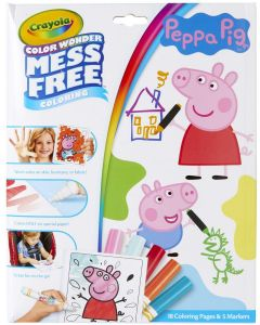 Crayola 75-7000 Peppa Pig Colour Wonder