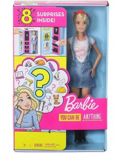 Barbie GLH62 Surprise Career Doll