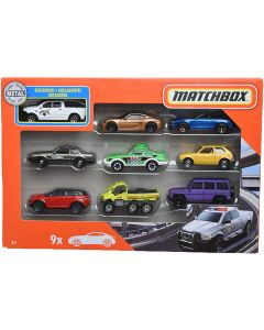 Matchbox X7111 9 Car Gift Pack Assortment