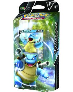 Pokémon POK818394 TCG: Blastoise V/Venusaur V Battle Deck (one at Random), Mixed Colours