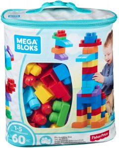Mega Blocks CYP67 60 pcs Bag Blue