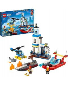 LEGO 60308 City Seaside Police and Fire Mission
