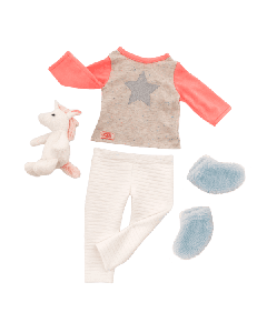 Our Generation 70.30311 Unicorn Wishes Outfit