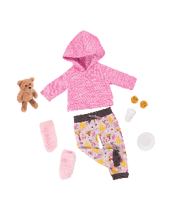 Our Generation 70.30327 Deluxe Bear Hugs Outfit