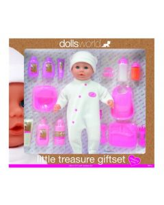 Dolls World 8861 Little Treasure Gift Set, Exclusice