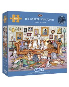 Gibsons G3118 The Barker-Scratchits. 500 Piece
