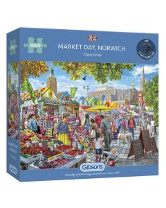 Gibsons G6297 Norwich Day Market 1000 Piece