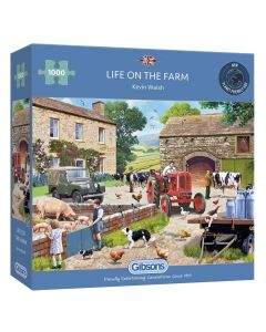 Gibsons G6304 Life on the Farm 1000 piece