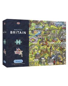 Gibsons G7080 Beautiful Britain 1000 piece