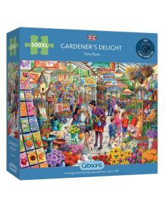 Gibsons G3548 Gardeners Delight 500 Extra Large Pieces