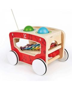 Hape E8257 Pull Along Activity Wagon