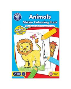 Orchard Toys CB01 Animals Colouring Book