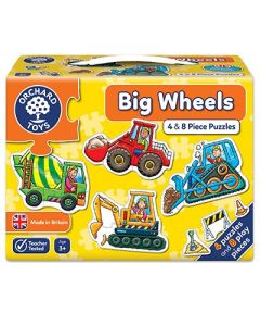 Orchard Toys 201 Big Wheels Puzzle