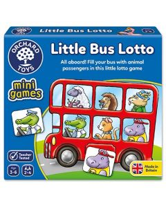 Orchard Toys 355 Little Buss Lotto Game