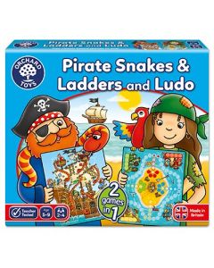 orchard Toys 040 Pirate Snakes And Ladders Game