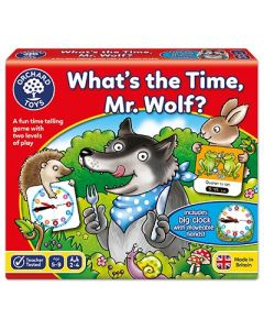 Orchard Toys 049 What's the Time Mr Wolf Game