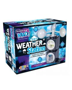 Science Mad SM51 Scence Mad 5 in 1 Weather Station