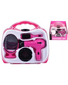 Carry Case TY0124 Hair Dryer Set (Battery Operated)